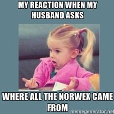 Image result for norwex meme