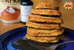 Protein Pow: Maple & Pumpkin Protein Pancakes