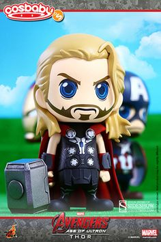 Avengers Age of Ultron Hot Toys Cosbaby Figure Series 1 Thor