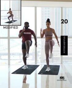 Fitness Workouts, Hiit Workout Videos, Gym Workout For Beginners, Fitness Workout For Women, Monthly Workouts, Full Body Hiit Workout, Hiit Workout At Home, Gym Workout Tips, Butt Workout