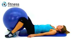 Total Body Exercise Ball Workout Video - Express 10 Minute Physioball Wo...