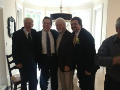 Jay & Karen's wedding day - Wayne,Alan,Merrill,Jay