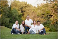 Adult Family Pose, Adult Siblings and Parents | Pittsburgh Photographer Kelly Adrienne Photography