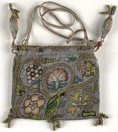 Sweet bag, located in VA Museum, from third quarter of 16th century