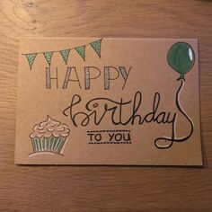 Happy Birthday Sign Discover Happy birthday to you card Happy Birthday Cards Handmade, Creative Birthday Cards, Happy Birthday Signs, Cute Happy Birthday, Birthday Cards For Friends, Bday Cards, Happy Birthday Greetings, Birthday Card Drawing, Card Birthday