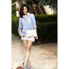 The Upgraded Chambray via Polyvore
