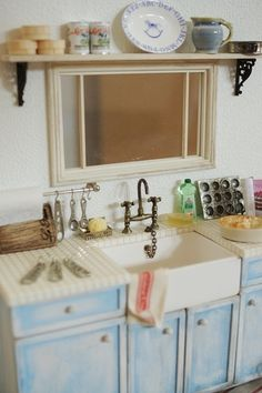 kitchen miniature kitchens remodeling 276 best images houses dollhouses when you click is displayed in original size mini rooms