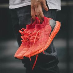 quality design 85791 c20c4 A Closer Look At The Red adidas Ultra Boost Uncaged That Releases This  Weekend