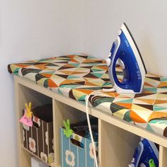 SEW KATIE DID: DIY Ironing Board:Station Tutorial