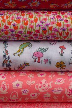 Liberty fabric at materialiseyourlife.com Liberty Fabric, Japanese Fabric, Art Studios, Textile Art, Fabrics, Things To Come, Colours, Tejidos, Cloths