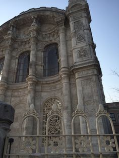 Beautiful details of Ortakoy mosque