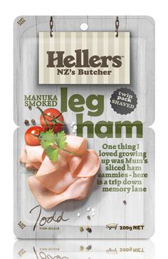 Hellers, the iconic meats brand, has been given a new look at the hands of brand design expert Dow Design.