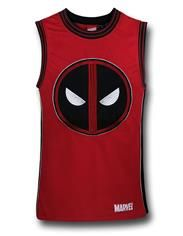 Deadpool Embroidered Basketball Jersey