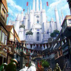 white castle concept art
