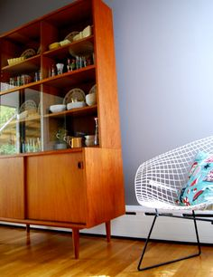 Teak Hutch Idea For Corner IdeasTeakDining Room