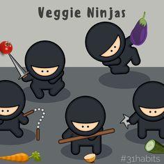 Habit #10 Be a Veggi
