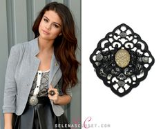 Here you'll find information on the latest outfits that Selena has worn and where to get them. Selena Gomez Closet, Petra Collins, Golden Goddess, Latest Outfits, Fashion Rings, Celebrity Style, Victoria, Skirt Belt