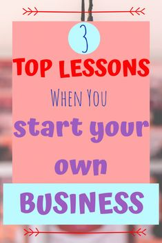 3 Top Unexpected Lessons when you Start your Own Business - The Traveling Choir Girl Trying To Be Happy, Tough Love, Starting Your Own Business, Best Budget, Music Lessons, Choir, Business Planning, You Really, Make You Smile