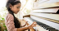 The earliest name of the 'piano' was 'a gravicembalo col piano e forte,' that is, 'a harpsichord with soft and loud.' Eventually the rest of it dropped off to the English word we know today in the Baby Sitting, Piano Lessons, Music Lessons, Playing Piano, Kids Playing, Jouer Du Piano, Daniel Tiger Birthday, Mozart, Pbs Kids