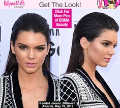7 Easy Steps For The Wet Hair Look Rocked By Kendall Jenner At BBMA
