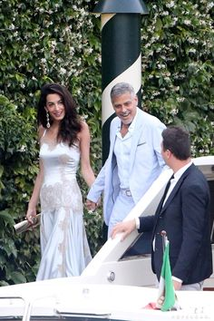 Pin for Later: George and Amal Clooney Have a Star-Studded Date Night in Italy