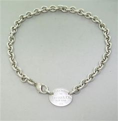 Tiffany & Co. Return to Tiffany Tag Necklace. Available @ hamptonauction.com for the March 16, 2014 auction!