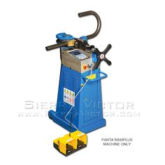 "ITEM: 2"" Rotary Draw Tube & Pipe Bender,  MAKE: ERCOLINA®,  MODEL: SUPER BENDER,  PART# SB48 PLUS, CALL 386-304-3720, VISIT http://sierravictor.com/index.php?dispatch=products.view&product_id=3609"