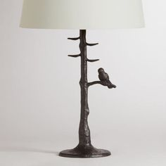r-coated finish and realistic texture, not to mention an adorable bird perched on the lowest branch. The perfect size for an end table, console table or nightstand, our affordable Table Lamp Bases coordinate with our wide selection of Table Lamp Shades, so you can create the perfect ensemble to fit your style, space and budget. What You Need To Know