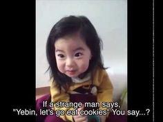 [Official] Mom Teaches Cute Korean baby Yebin a Life Lesson - YouTube