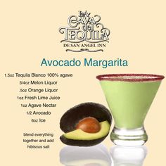 Try the Avocado Margarita at La Cava Del Tequila in Epcot