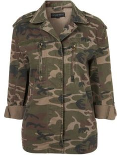 Military style jacket #6PMStyleScore
