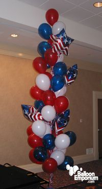 Elegant Patriotic Centerpieces | 4th of July Idea Gallery (click to enlarge image)