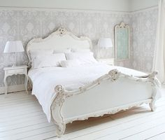 Bed is gorgeous