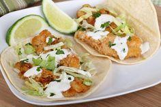 Veckans middagstips: fish tacos med hemmagjorda tortillabröd