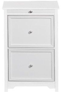 """Amazon.com - Oxford File Cabinet With Pull out Shelf, 28.5""""Hx20.5W, WHITE - Lateral File Cabinets"""