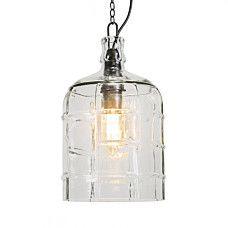 Lámpara colgante VASO transparente - 92219