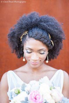 The afropolite mariage : la coiffure de la mariée naturelle Partie I
