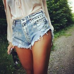 I need a pair of high waisted shorts