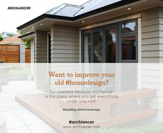 Want to improve your old #homedesign? Go nowhere because Archlancer is the place where you get everything under one roof. #building #interiordesign #Architects