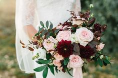 romantic ethereal blush garden rose wedding bouquet flowers utah calie rose www.calierose.com