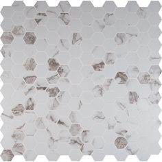 "You'll love the Statuario 2"" x 2"" Hexagon Porcelain Mosaic Tile in Matte at Wayfair - Great Deals on all Home Improvement  products with Free Shipping on most stuff, even the big stuff."