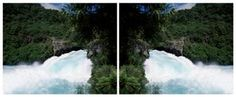 McNAMARA GALLERY - PHOTOGRAPHY - WANGANUI NEW ZEALAND Photo Boards, Mirror Image, Contemporary Artists, New Zealand, Landscape Photography, Gallery, Hexagons, Waterfalls, Bridges