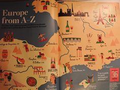Illustration by Olimpia Zagnoli Toulouse, Bordeaux, Roman, Europe, France, Paris, Illustration, Cut Outs, Montmartre Paris