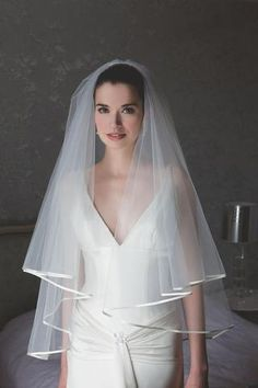 Rainbow Club Jessamy satin edge bridal veil- at Debenhams b1ef6f83e