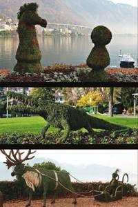 Villesfleuries.ch | le portail horticole des villes suisses: Sculptures…