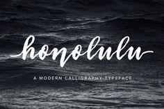 Honolulu by Jen Wagner Co on @creativemarket