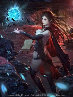 Hechicera Legend of the cryptids