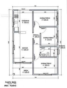 3d House Plans, Simple House Plans, Simple House Design, Architecture Drawing Plan, Interior Concept, 3 Bedroom House, Building Plans, 3 D, New Homes