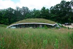 Earth Sheltered Concrete House