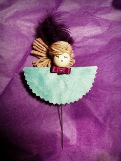 Aguja alfiler muñeca Moñita 5